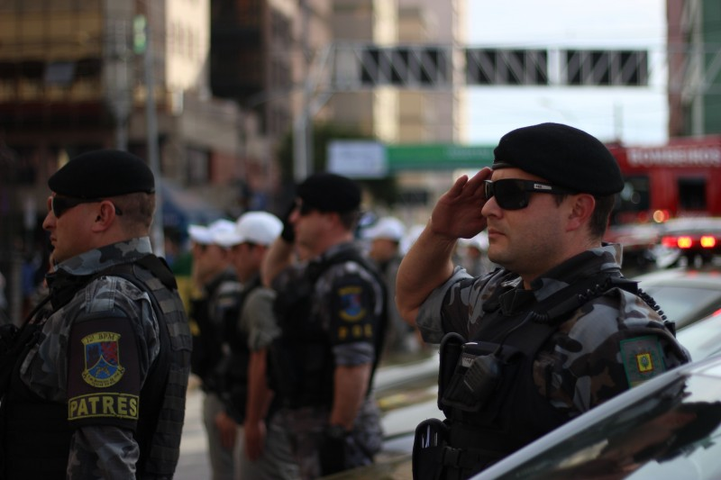 Comandante da Brigada Militar reconhece ação das quadrilhas, mas diz que corporação não se sente ameaçada. (Foto: Arquivo/RSCOM)