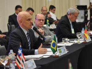 Ministro da Justiça, Alexandre de Moraes, falou sobre propostas da segurança pública em Gramado (Foto: Ministério da Justiça e Cidadania/Divulgação)