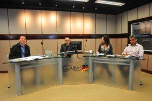 Melo e Marchezan debateram na Rádio Guaíba nesta quinta   Foto: Alina Souza