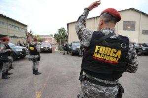 Força Nacional já atua no policiamento ostensivo de Porto Alegre há mais de dois meses Foto: Júlio Cordeiro / Agencia RBS