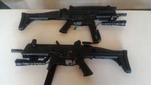 Armas estão a disposição dos policiais militares para o combate a criminalidade - Foto: Divulgação