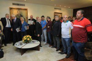 Diretores da ABAMF participaram da entrega do pedido de CPI