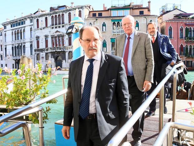 Governador durante viagem a Veneza, na Itália, em outubro (Foto: Luiz Chavez/Palácio Piratini)
