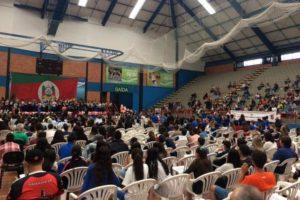 Formatura ocorreu no Complexo Poliesportivo do Sesi, no bairro Fátima Foto: Cristiane Barcelos / Agência RBS